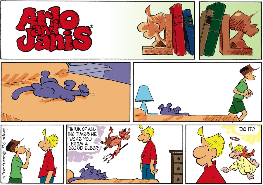 Arlo and Janis Comic Strip for July 21, 2002