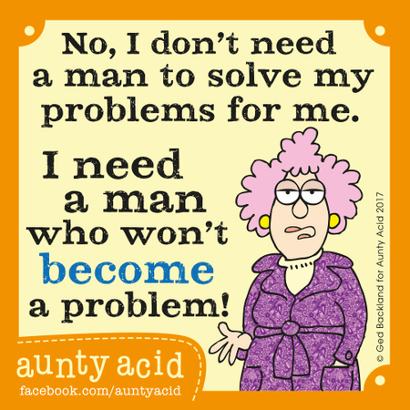 Aunty Acid for Aug 17, 2017 Comic Strip