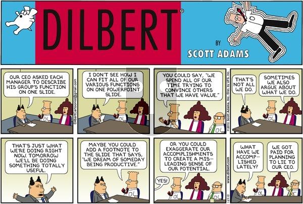 Dilbert - Sunday January 24, 2010 Comic Strip
