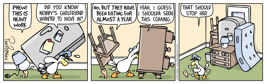 Ollie and Quentin Comic Strip for May 04, 2016