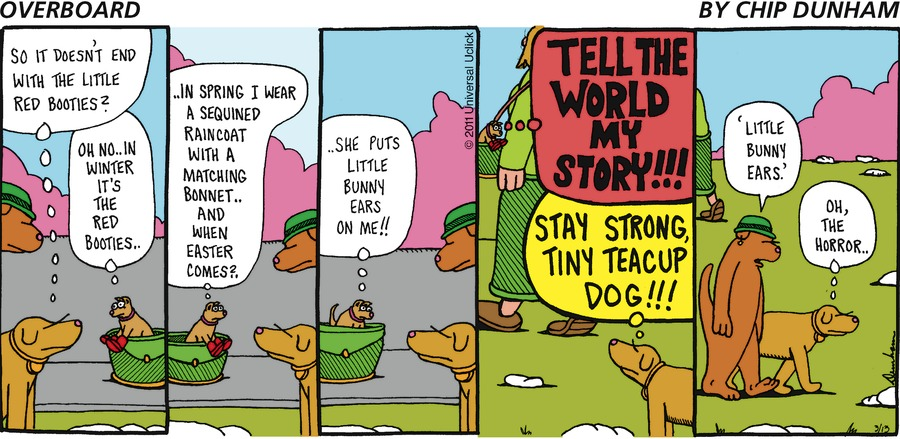 Overboard for Mar 13, 2011 Comic Strip