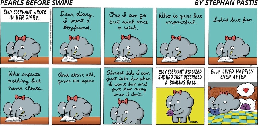 Pearls Before Swine Comic Strip for August 19, 2018