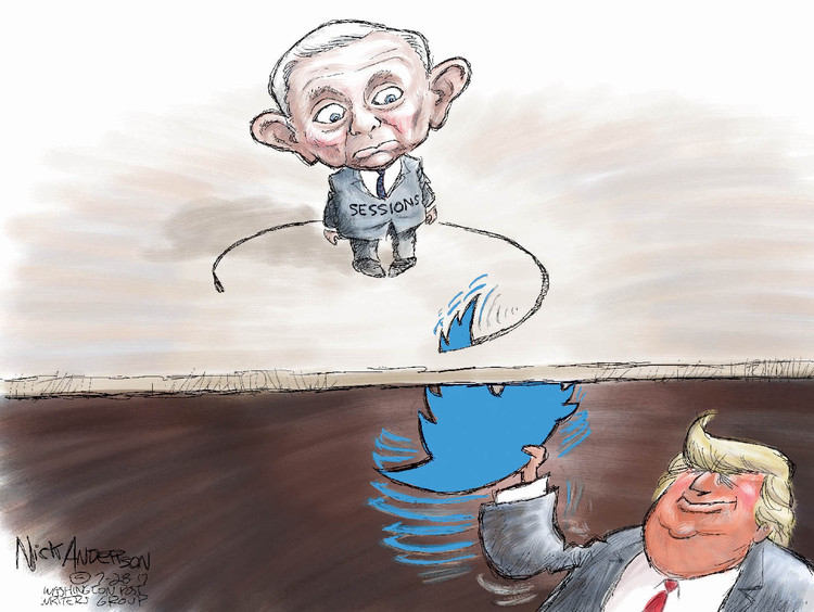 Nick Anderson Comic Strip for July 28, 2017