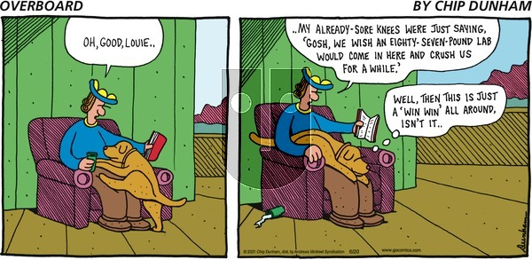 Overboard on Sunday June 20, 2021 Comic Strip