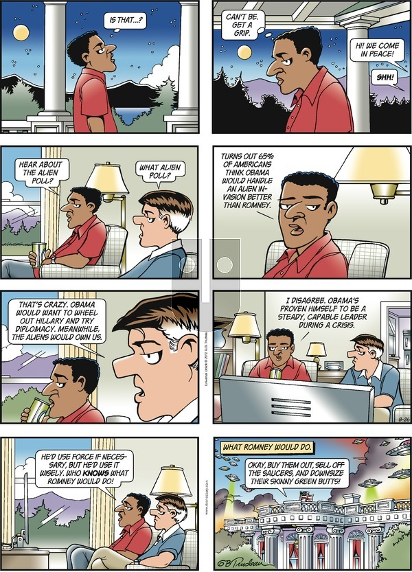Doonesbury on Sunday August 26, 2012 Comic Strip