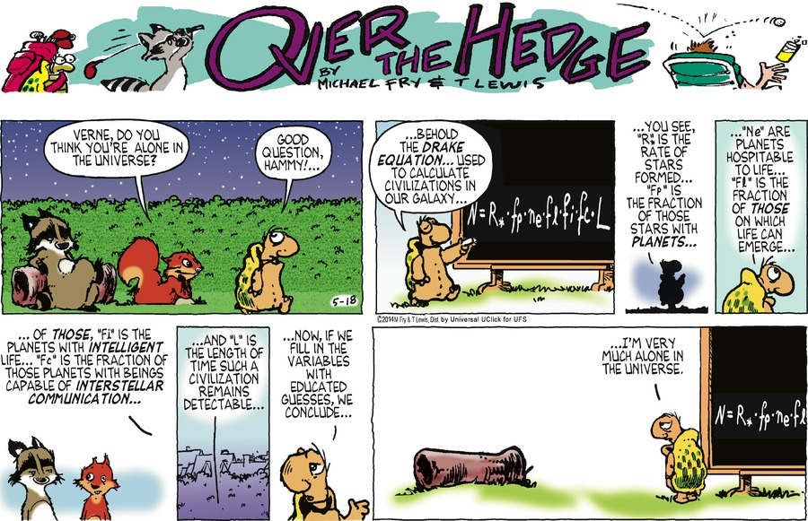 Over the Hedge Comic Strip for May 18, 2014