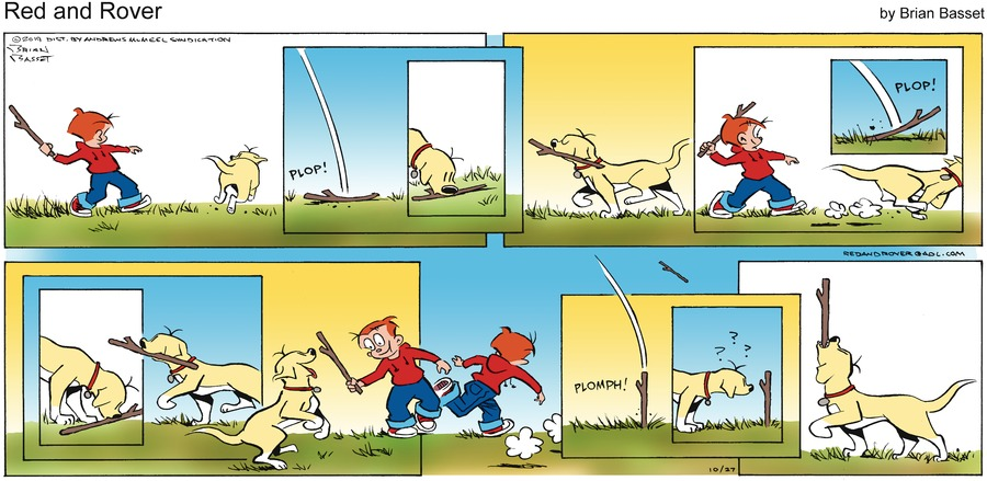 Red and Rover Comic Strip for October 27, 2019