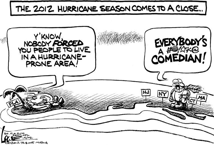 Chan Lowe for Dec 2, 2012 Comic Strip