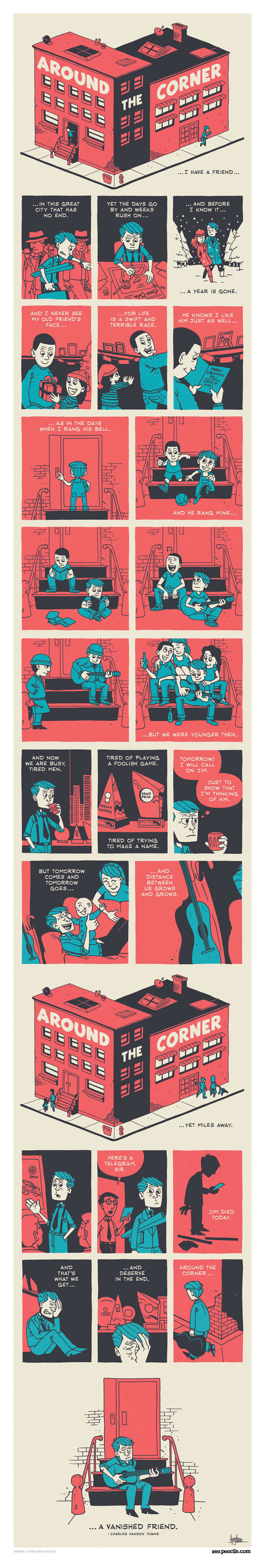 Zen Pencils Comic Strip for November 14, 2016