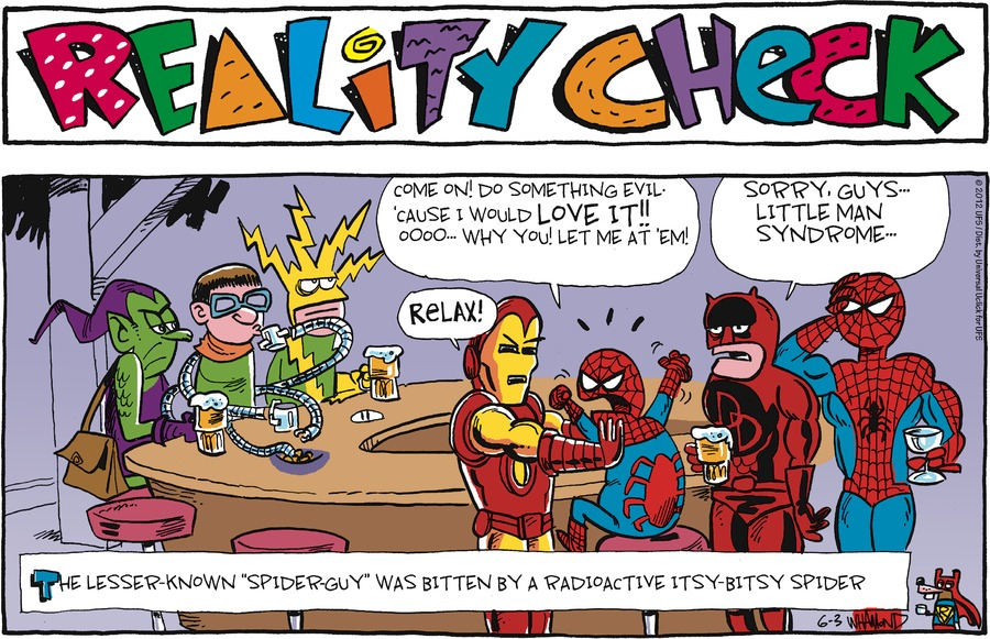 Reality Check Comic Strip for June 03, 2012
