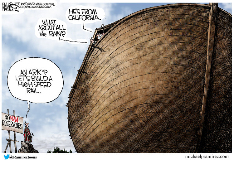 Michael Ramirez Comic Strip for March 14, 2019