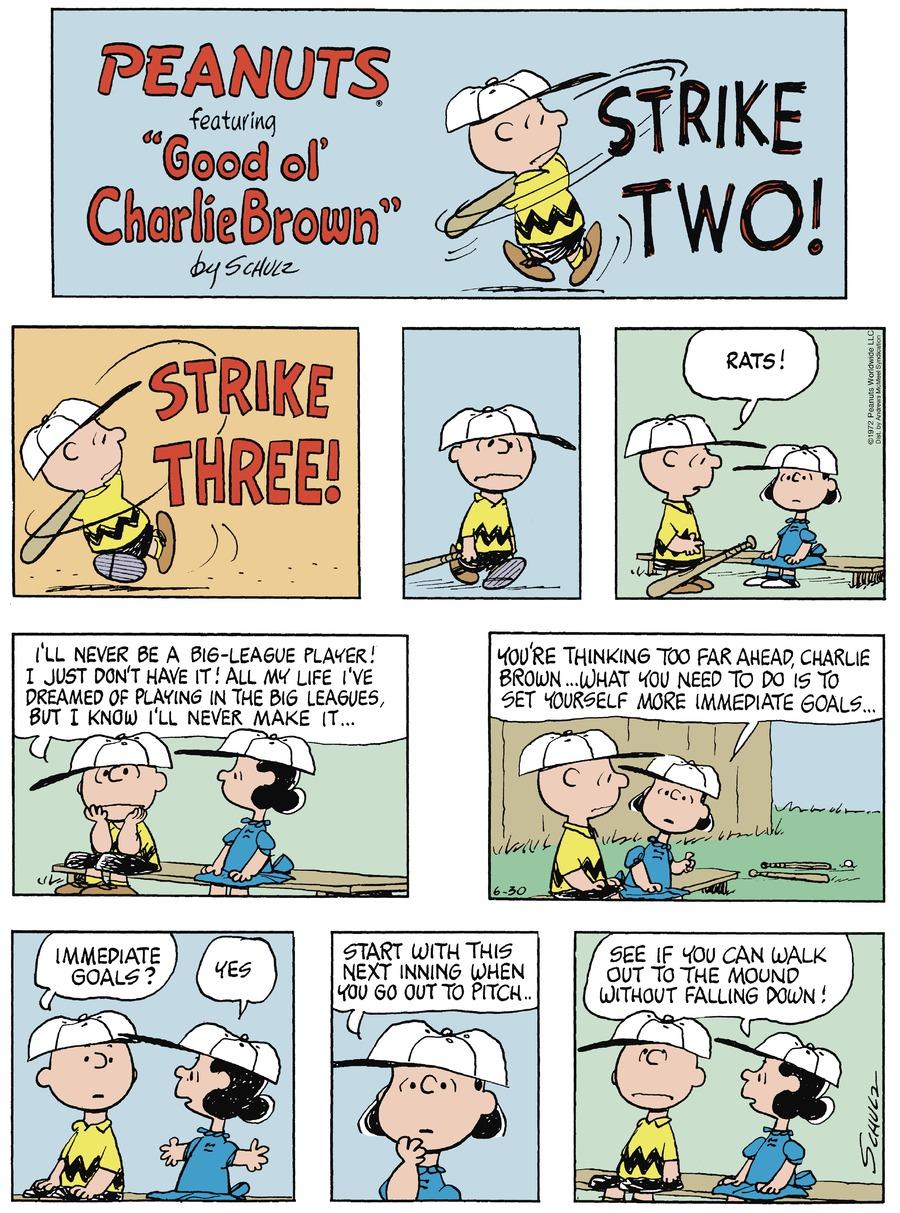Peanuts Comic Strip for June 30, 2019