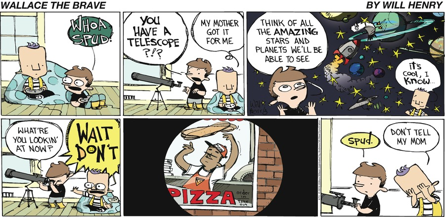 Wallace the Brave Comic Strip for April 15, 2018