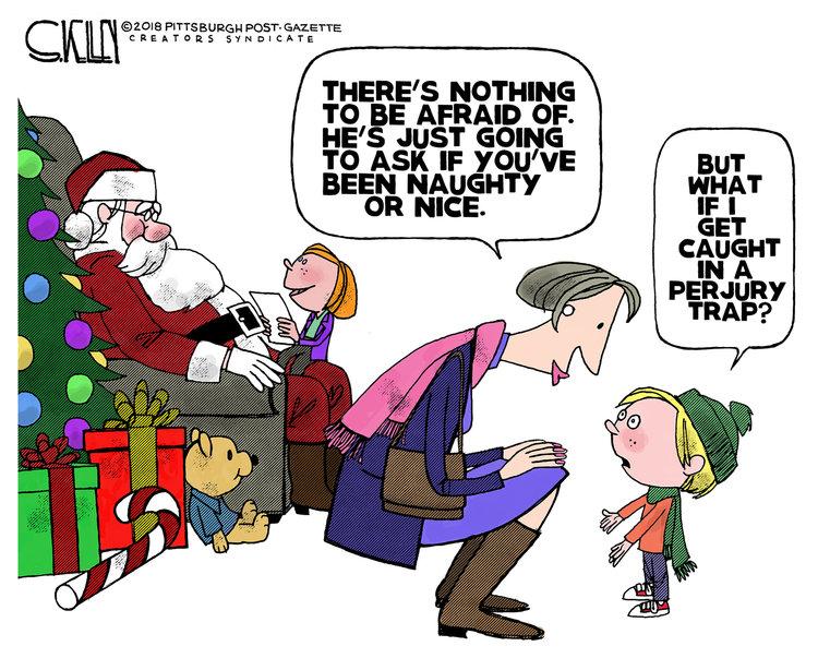 Steve Kelley Comic Strip for December 09, 2018