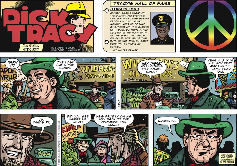 Dick Tracy Comic Strip for December 27, 2020
