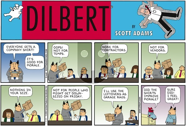 Dilbert - Sunday November 9, 2003 Comic Strip