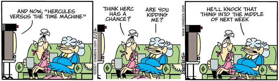 Diamond Lil Comic Strip for February 26, 2021