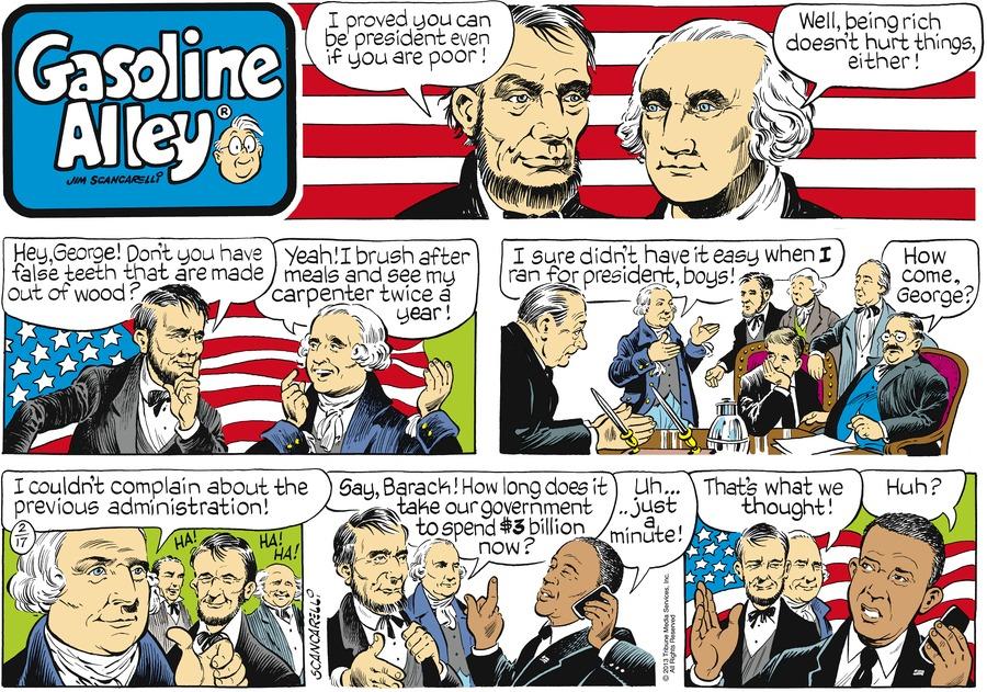 Gasoline Alley for Feb 17, 2013 Comic Strip