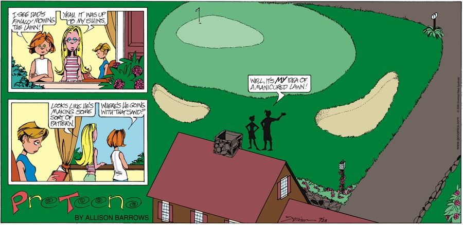 PreTeena Comic Strip for November 01, 2020