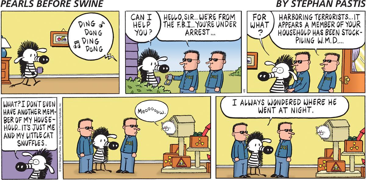 Pearls Before Swine Comic Strip for April 06, 2008
