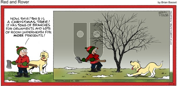 Red and Rover on Sunday December 13, 2020 Comic Strip