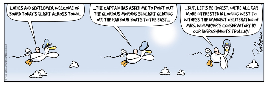 Ollie and Quentin for Nov 20, 2012 Comic Strip