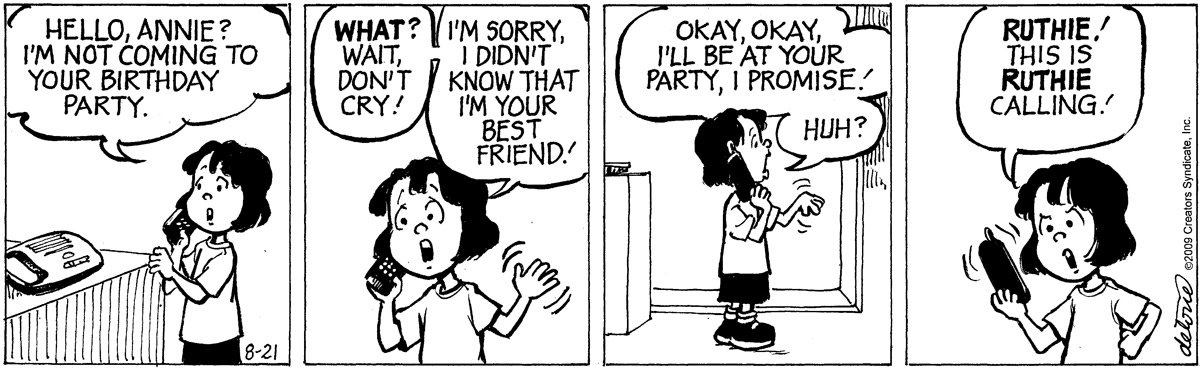 One Big Happy Comic Strip for September 17, 2021