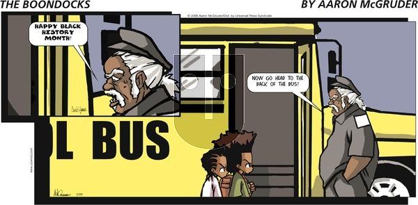 The Boondocks on Sunday May 9, 2021 Comic Strip