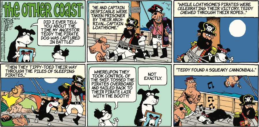 The Other Coast Comic Strip for October 13, 2019