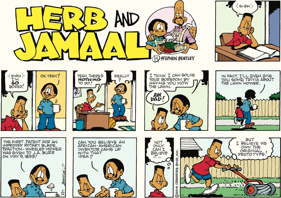 Herb and Jamaal Comic Strip for May 26, 2019