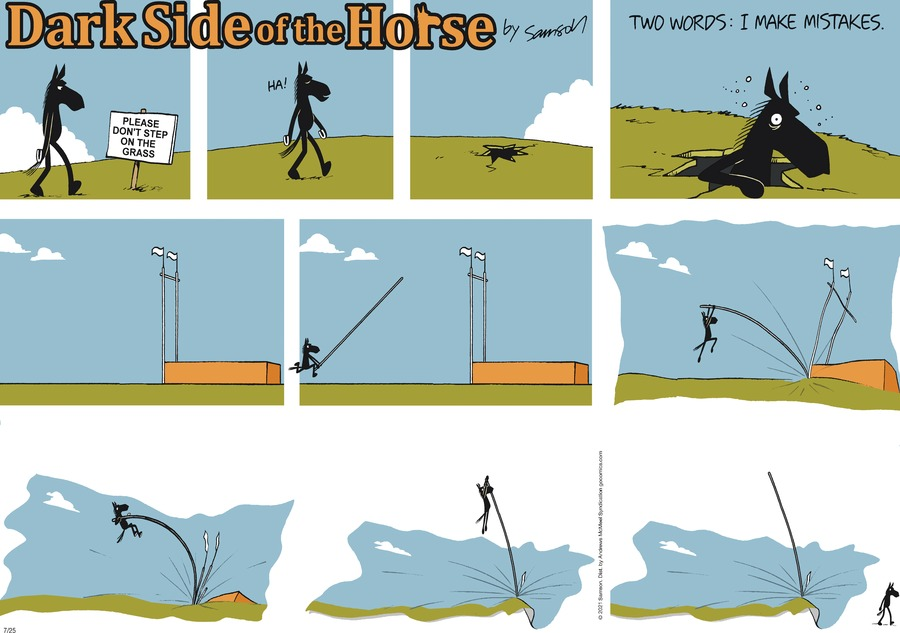 Dark Side of the Horse Comic Strip for July 25, 2021