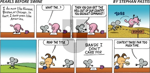 Pearls Before Swine on Sunday April 5, 2020 Comic Strip