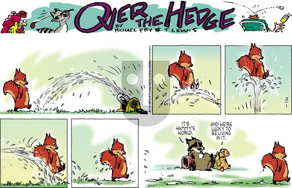 Over the Hedge on Sunday August 1, 2021 Comic Strip