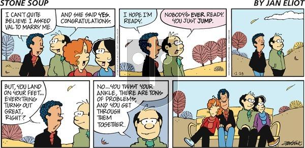 Stone Soup - Sunday December 28, 2014 Comic Strip