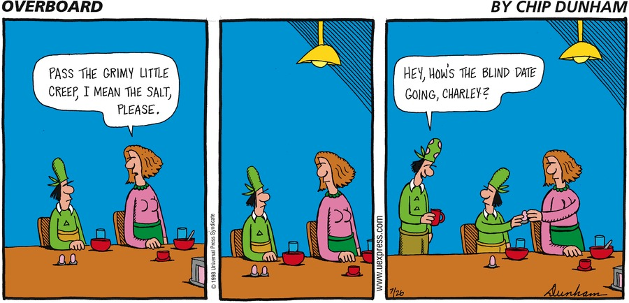 Overboard for Jul 26, 1998 Comic Strip