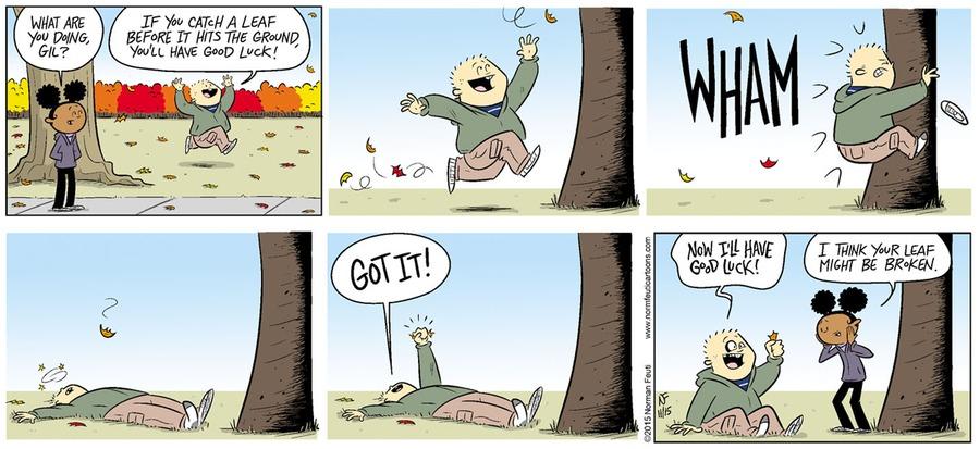 Gil Comic Strip for October 13, 2019
