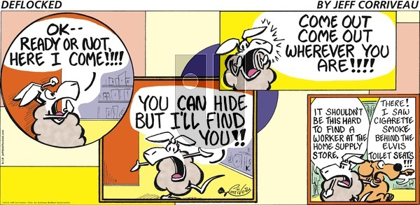 DeFlocked on Sunday August 18, 2019 Comic Strip
