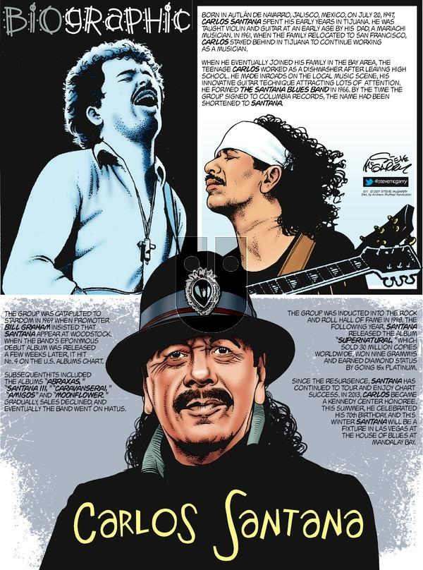 Biographic on Sunday October 1, 2017 Comic Strip