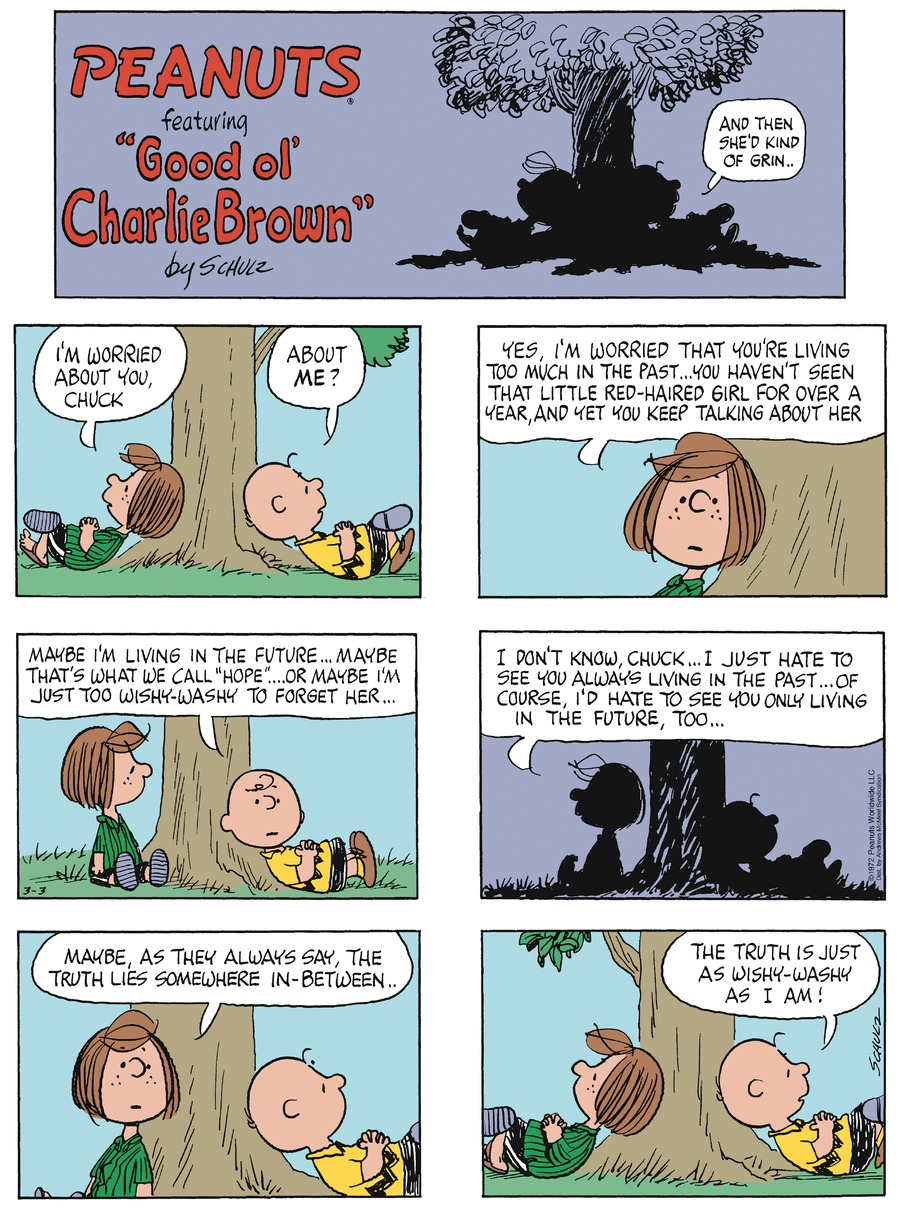 Peanuts by Charles Schulz for March 03, 2019