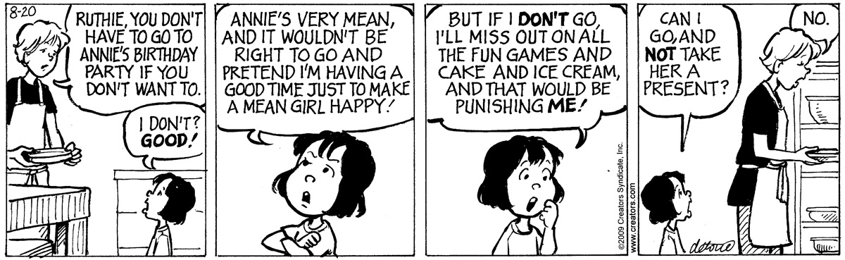 One Big Happy Comic Strip for September 16, 2021