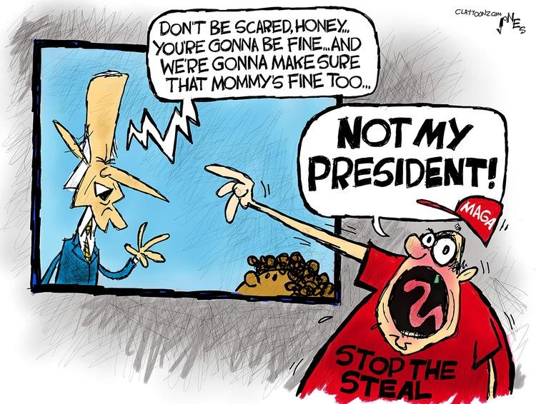 Clay Jones Comic Strip for February 21, 2021