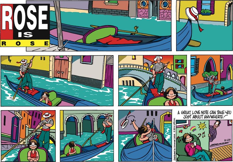 Rose is Rose Comic Strip for November 23, 2014