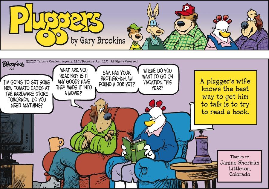 Pluggers by Gary Brookins on Sun, 22 Mar 2020