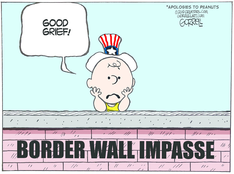 Bob Gorrell Comic Strip for January 09, 2019