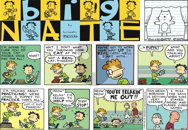 Big Nate on Sunday May 10, 2015 Comic Strip