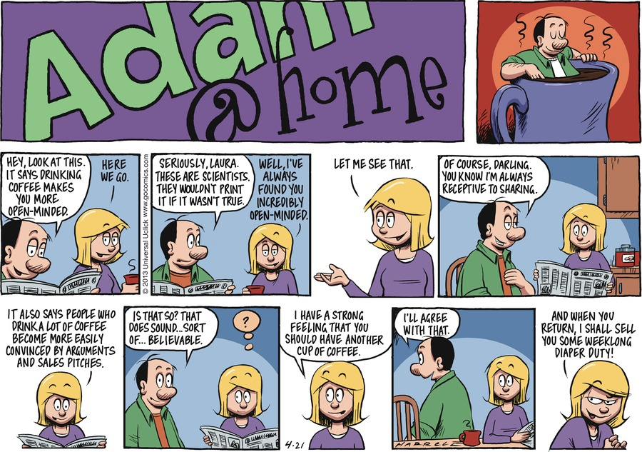 Adam@Home Comic Strip for April 21, 2013