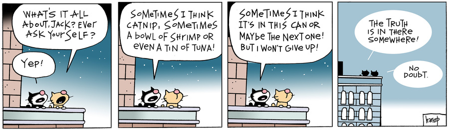 Ten Cats by Graham Harrop for March 13, 2019
