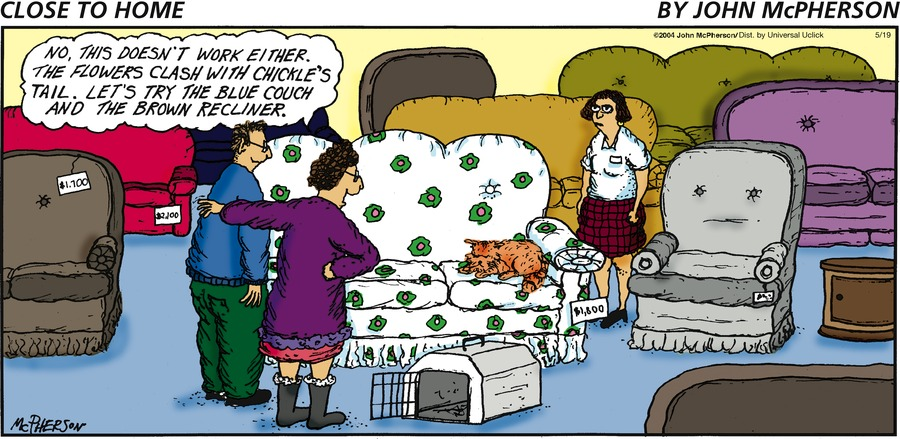 Close to Home for May 19, 2013 Comic Strip