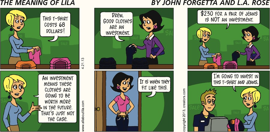 The Meaning of Lila for Apr 21, 2013 Comic Strip