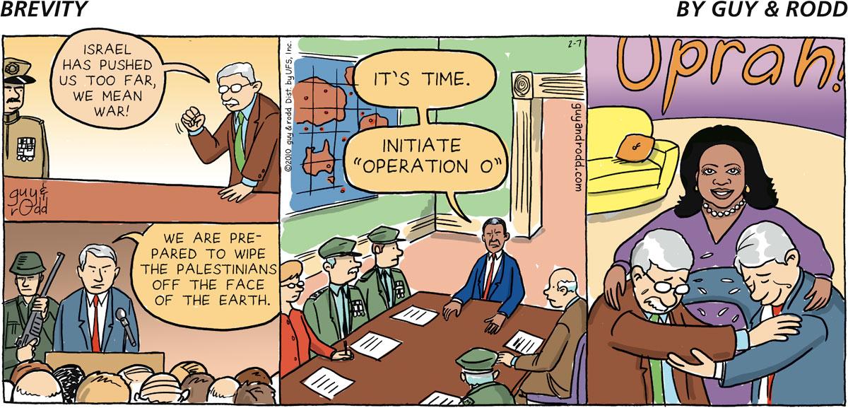 Brevity Comic Strip for February 07, 2010